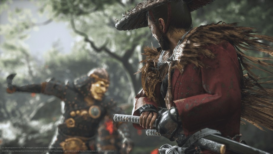 Ghost of Tsushima 3 vs 1