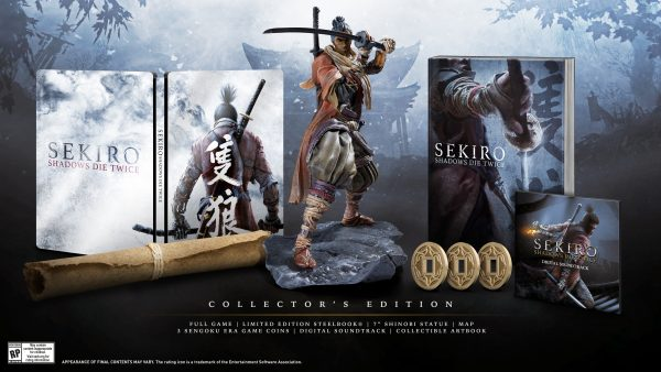 Sekiro Shadows Die Twice Collector's Edition