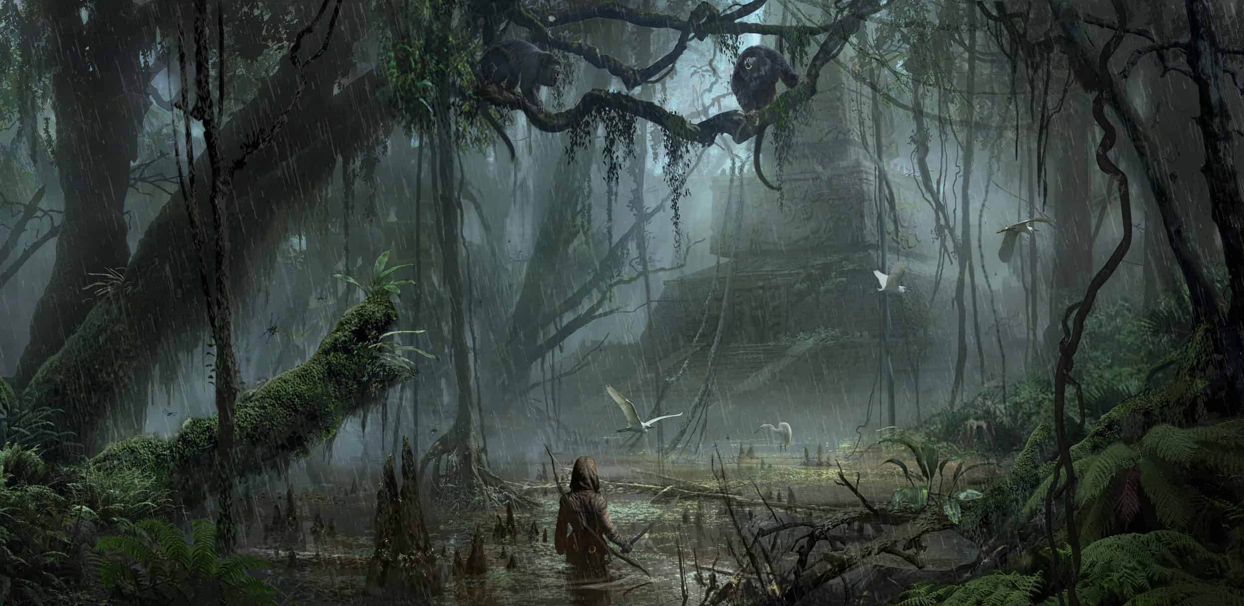 Shadow of the Tomb Raider Jungle