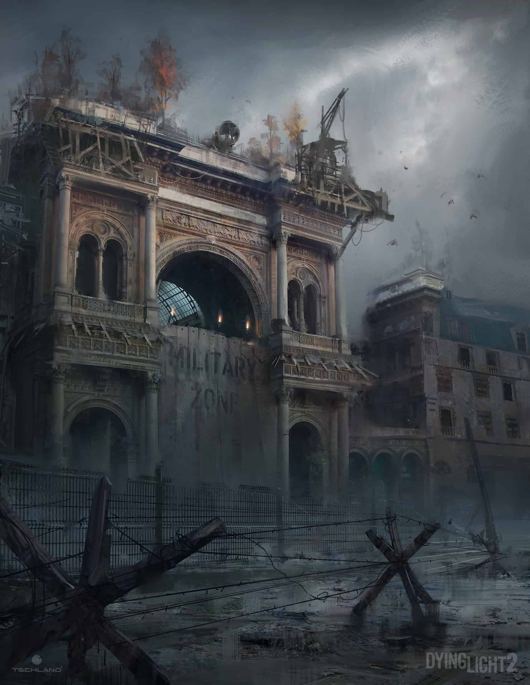 Dying Light 2 Concept Art
