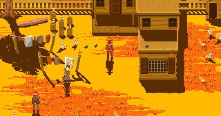 Westerado: Double Barreled โลก Open World ฉบับพกพา