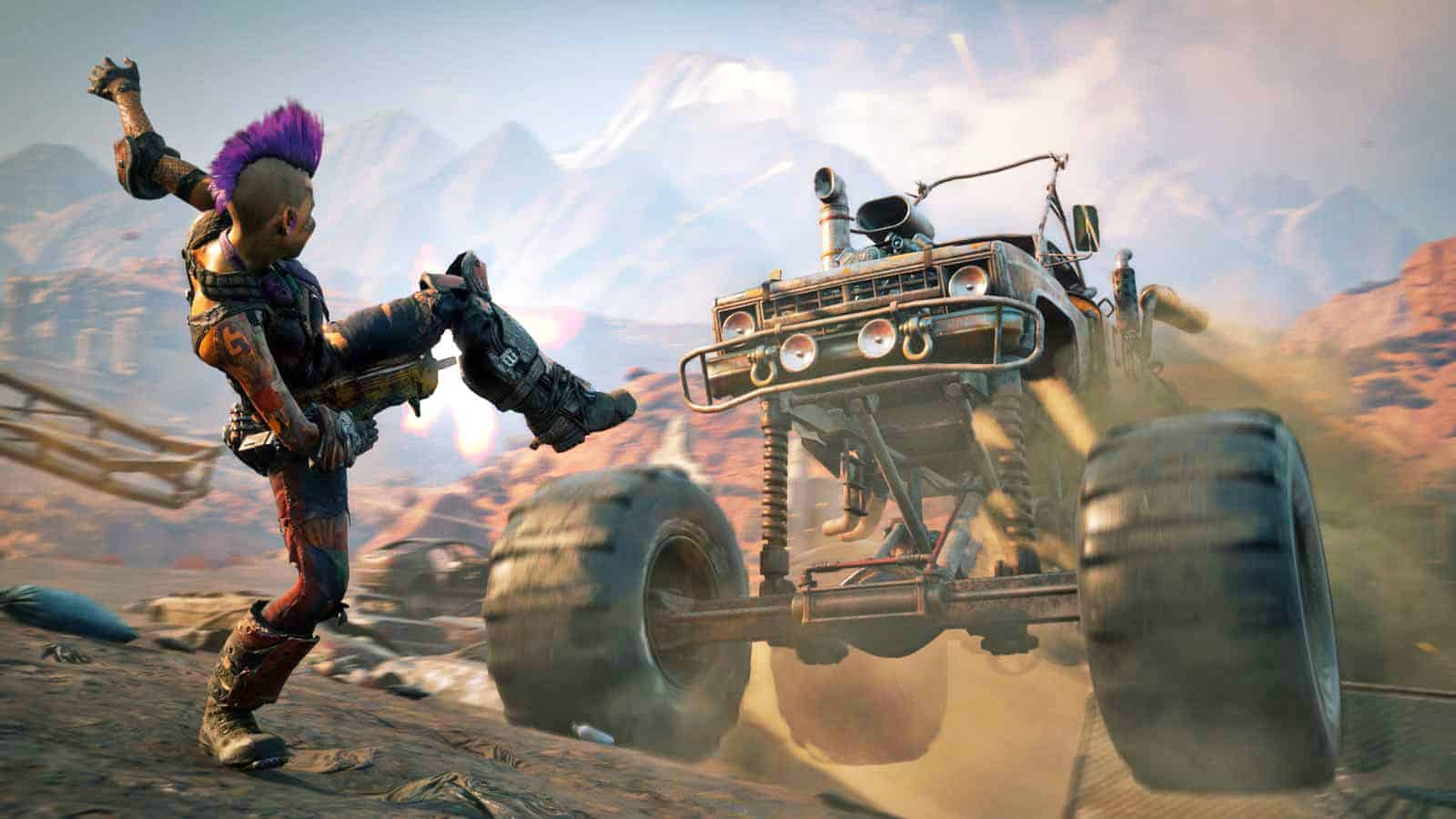 Rage 2 Vehicle