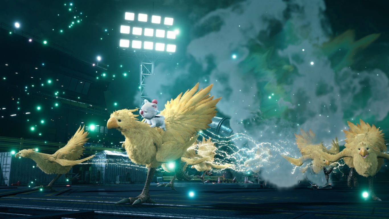 ff 7 remake chocobo